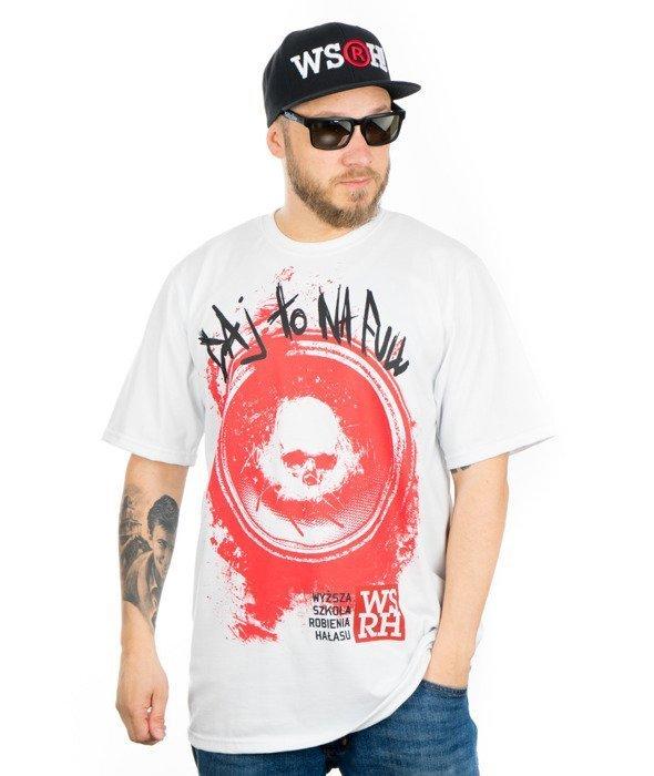 WSRH Daj to na Full T-shirt Biały