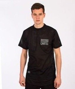 Backyard Cartel-Transition Mesh Long T-Shirt Black