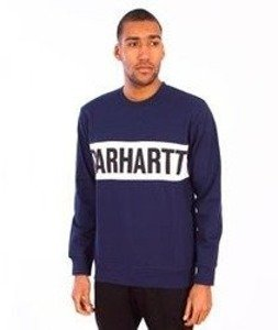 Carhartt-Shore Sweat Blue/White