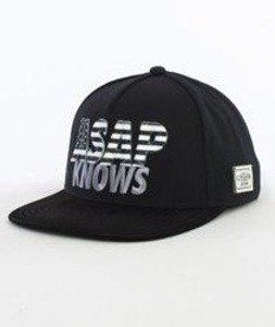 Cayler & Sons-Asap Knows Cap Snapback Black/White/Grey