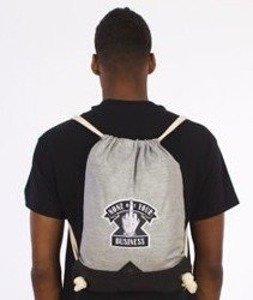Cayler & Sons-Business Gym Bag Grey/Black/White