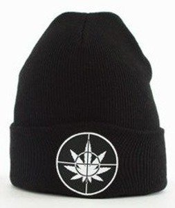 Cayler & Sons-Defend Your Crops Old School Beanie Czapka Zimowa Black/White