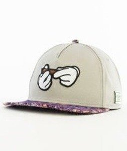 Cayler & Sons-Haze Classic Snapback Grey/Purple Haze