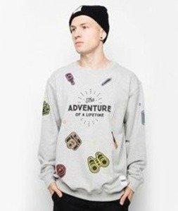 Diamante-Adventure Bluza Szara