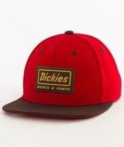Dickies-Jamestown Snapback Czapka English Red