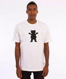 Grizzly-OG Bear Logo Basic T-Shirt White