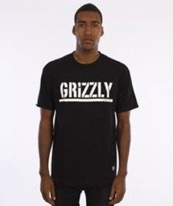Grizzly-OG Stamp Logo T-Shirt Black