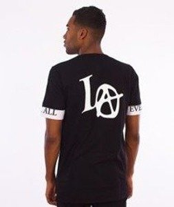 LuxxAll-LA T-Shirt Czarny