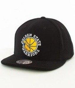 Mitchell & Ness-Golden State Warriors Snapback Czapka VV32Z Czarna