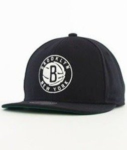 Mitchell & Ness-Solid Team Brooklyn Nets Snapback NL99Z Czarny