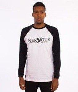 Nervous-Classic Fa16 Longsleeve Biały/Czarny