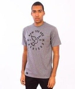 Nervous-Round T-Shirt Grey