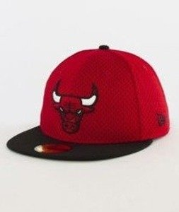 New Era-NBA Sports Mesh Chicago Bulls Cap Red/Black