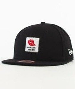 New Era-Patch Snapback Czarny