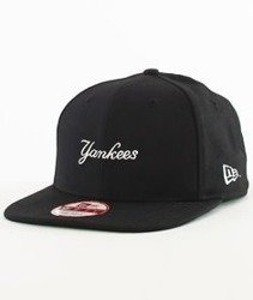 New Era-Yankees Wool Snapback Black