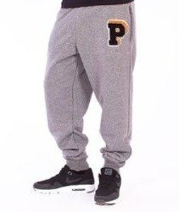 Prosto-P Big P Spodnie Dresowe Medium Heather Gray