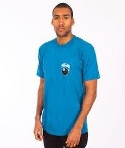 Stussy-8 Ball T-Shirt Blue