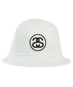 Stussy-Ss Link Sp16 Bucket Hat White