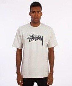 Stussy-Stock T-Shirt Jasny Szary