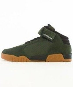 Supra-Ellington Strap Dark Olive/Black Gum