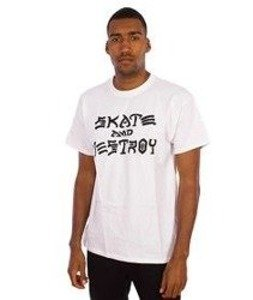 Thrasher-Skate And Destroy T-Shirt White
