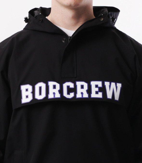 Biuro Ochrony Rapu BorCrew Kurtka Kangurka Czarna