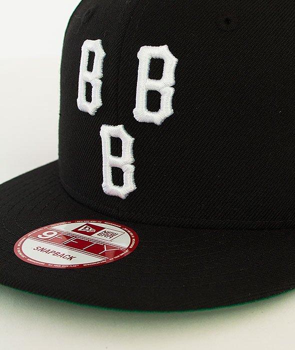 Black Scale-Triple B Logo New Era Snapback Black