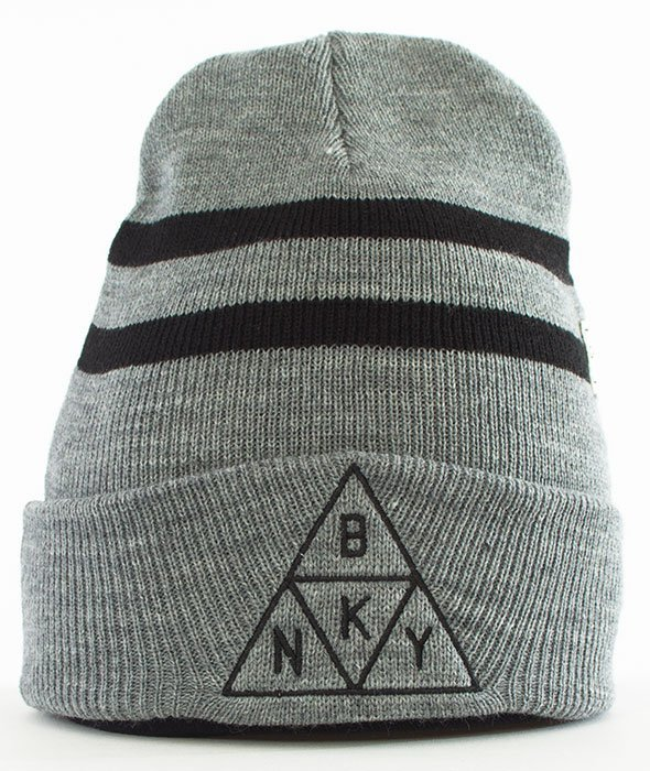 Cayler & Sons-Briangle Old School Beanie Czapka Zimowa Grey/Heather/Black