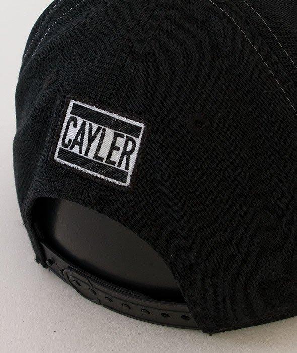 Cayler & Sons-Emcee Cap Black/White