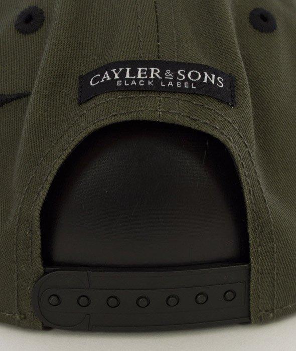 Cayler & Sons-Rebel Cap Snapback Olive/Black/Woodland