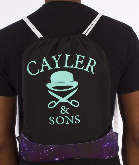 Cayler & Sons-Stay Fly Gym Bag Black/Purple