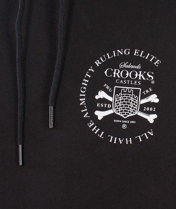 Crooks & Castles-Watchtower Hooded Black