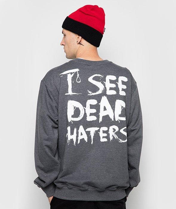 Diamante-I See Dead Haters Bluza Grafitowa