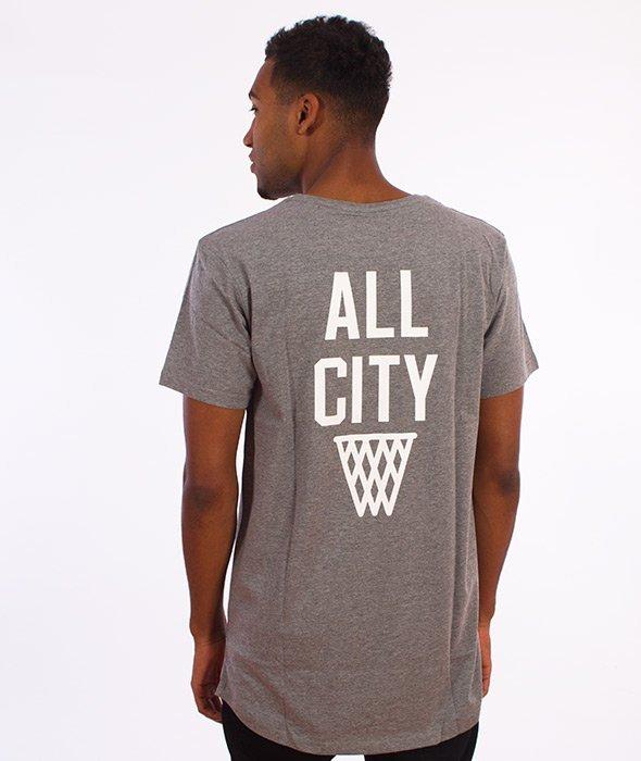 K1X-All City Long T-shirt Szary