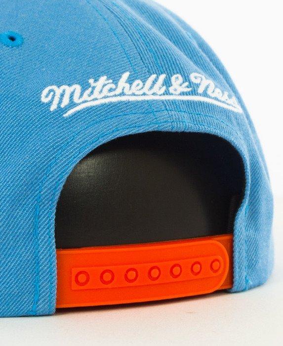 Mitchell & Ness-LA Clippers Snapback EU956 Blue/Orange