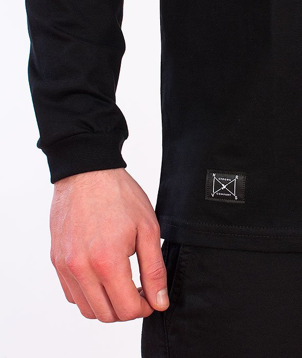 Nervous-Coffin Longsleeve Black