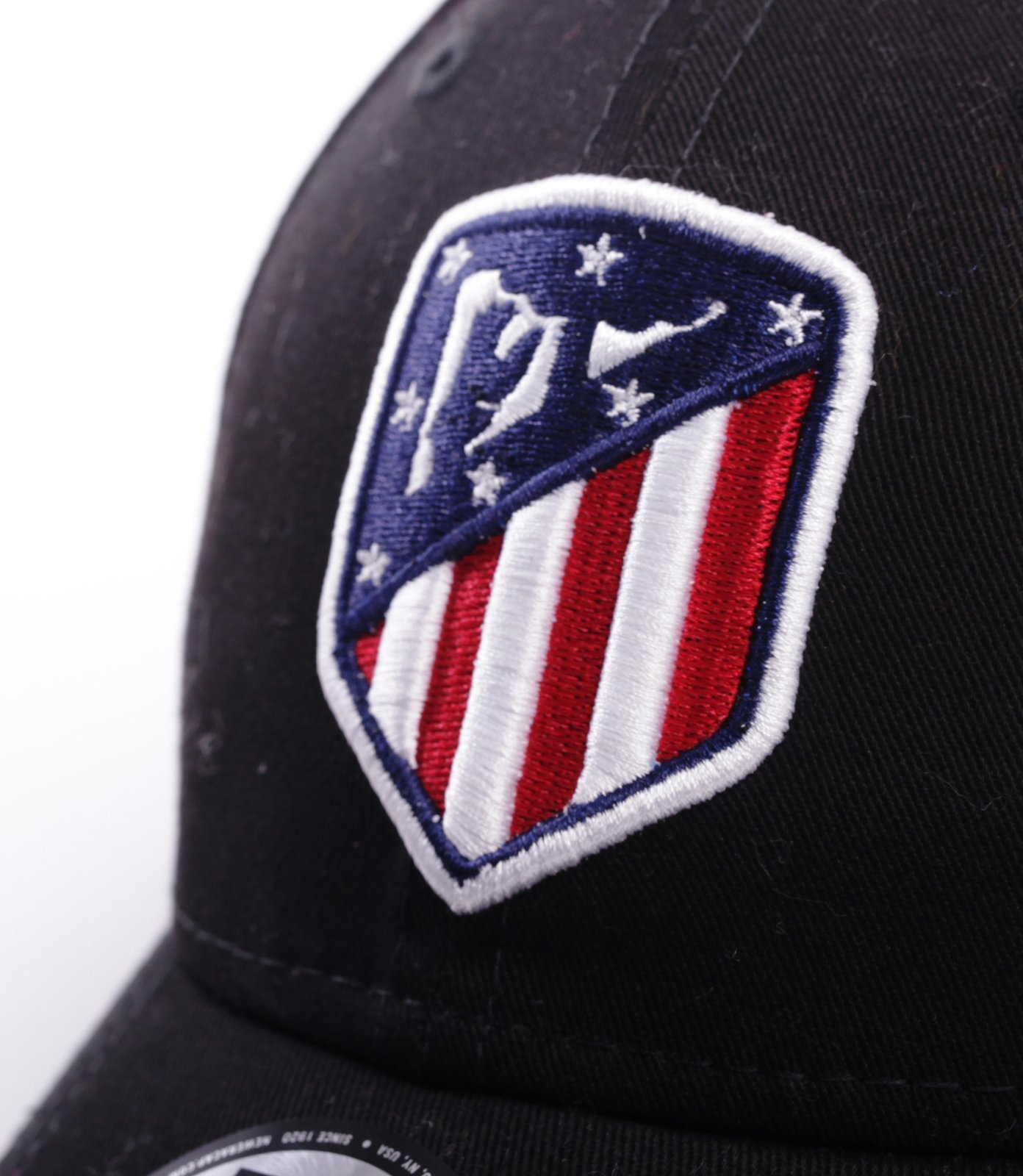 New Era ATLETICO MADRYT Czapka 6 panel Czarny