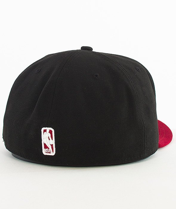 New Era-NBA Basic Miami Heat Cap Black/Red