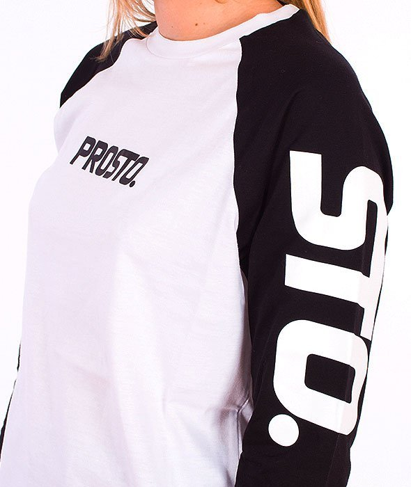 Prosto-Pro Longsleeve Damski White