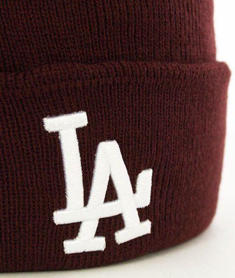 47 Brand-Los Angeles Dodgers Czapka Zimowa Bordo