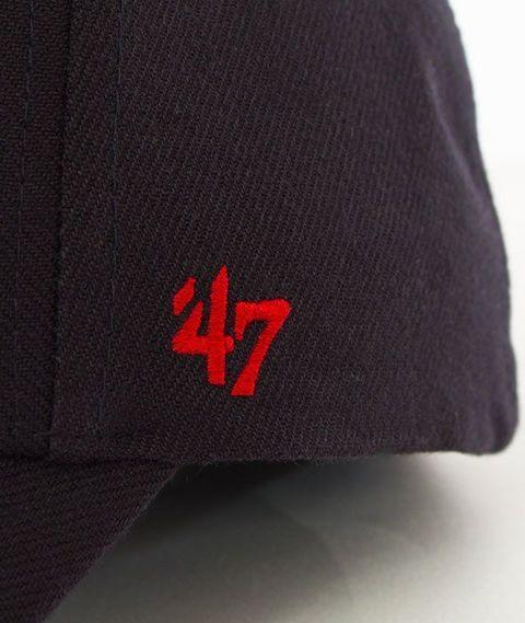 47 Brand-MVP Cleveland Indians Czapka z Daszkiem Granatowa