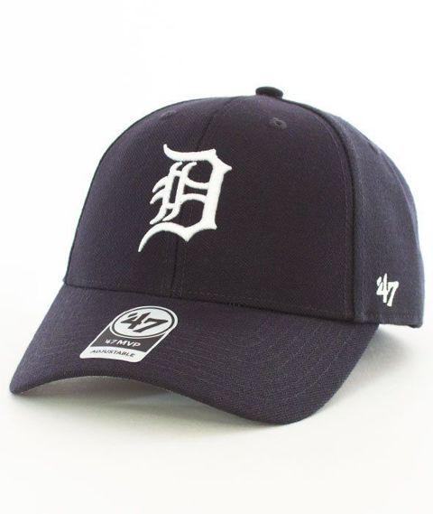 47 Brand-MVP Detroit Tigers Czapka z Daszkiem Granatowa