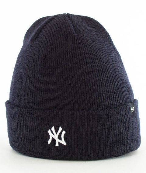 47 Brand-New York Yankees Centerfield Czapka Zimowa Czarna