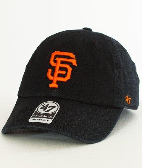 47 Brand-San Francisco Giants Czapka z Daszkiem Czarna