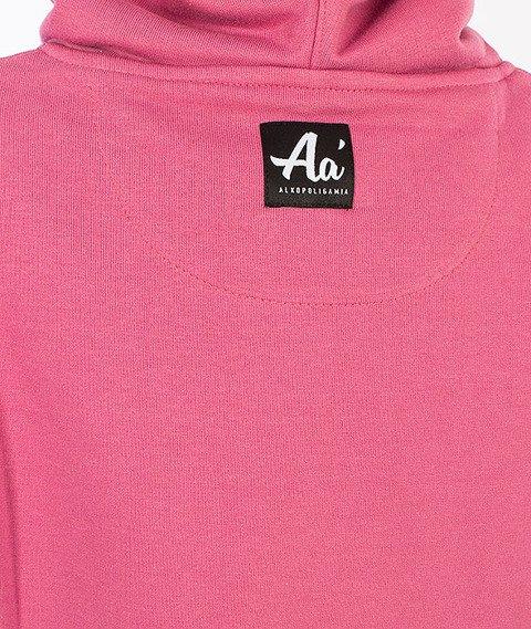 Alkopoligamia-Aa' Basic Kaptur Damski Różowy