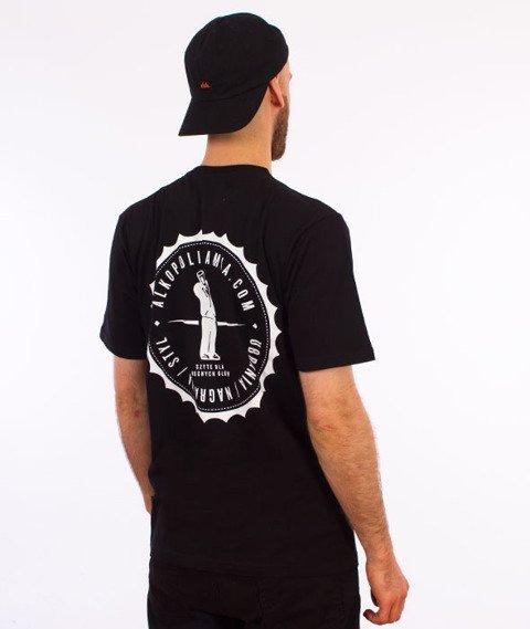 Alkopoligamia-Kapsel T-Shirt Czarny