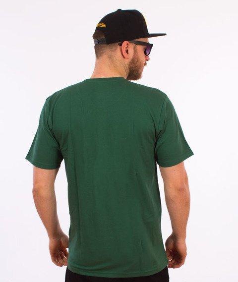 Alkopoligamia-Loveyourlife Botanix T-Shirt Zielony