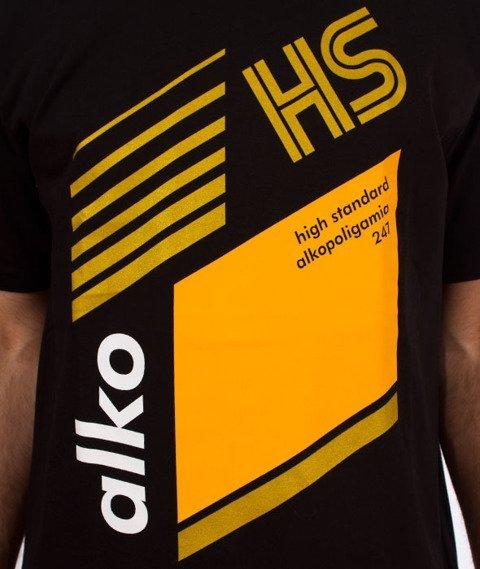 Alkopoligamia-Tapes Kodak T-Shirt Czarny
