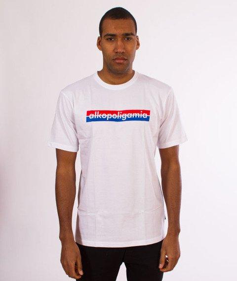 Alkopoligamia-Tapes Panasonic Classic T-Shirt Biały