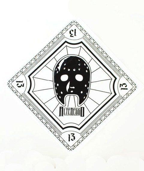 Alter Eggo-Black Mask Bandana Biała/Czarna